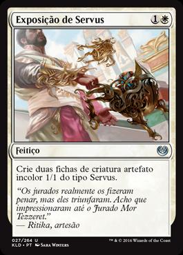 Exposição de Servus