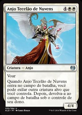 Anjo Tecelão de Nuvens