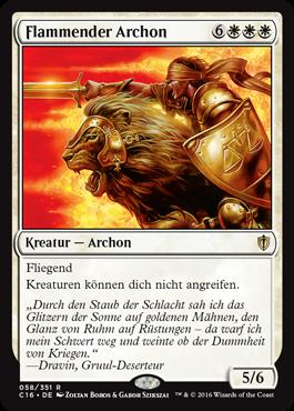 Flammender Archon