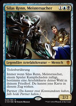 Silas Renn, Meistersucher