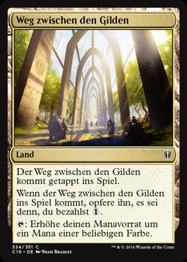 Weg zwischen den Gilden