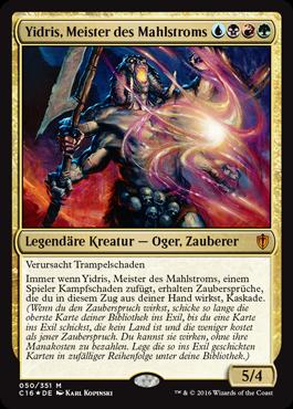 Yidris, Meister des Mahlstroms