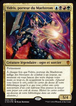 Âme de la Nouvelle Phyrexia Commander 2016 n°274 NM MTG Magic Français