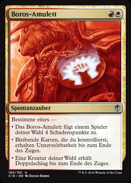 Boros-Amulett