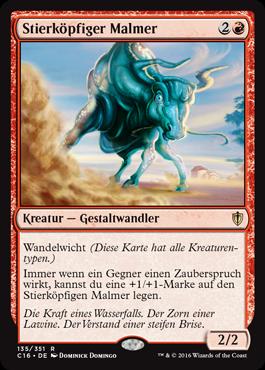 Stierköpfiger Malmer