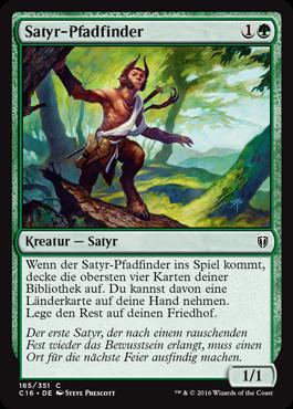 Satyr-Pfadfinder