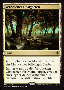 Verbotener Obstgarten