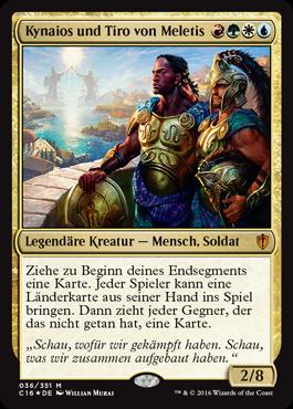 Kynaios und Tiro von Meletis