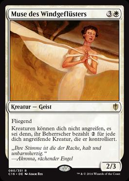 Muse des Windgeflüsters