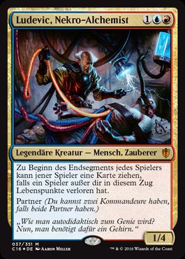 Ludevic, Nekro-Alchemist