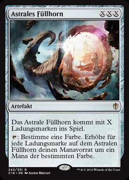 Astrales Füllhorn