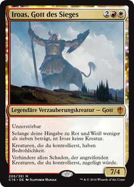 Iroas, Gott des Sieges
