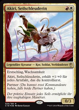 Akiri, Seilschleuderin