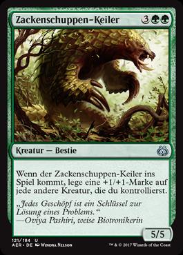 Zackenschuppen-Keiler