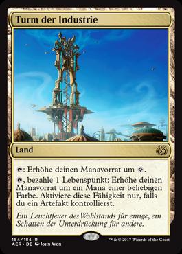Turm der Industrie