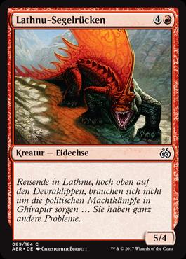 Lathnu-Segelrücken