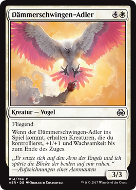Dämmerschwingen-Adler