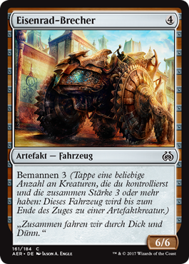 Eisenrad-Brecher