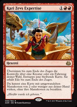 Kari Zevs Expertise