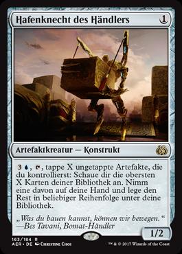 Hafenknecht des Händlers