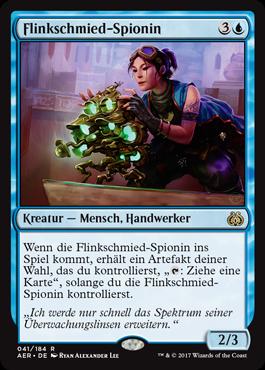 Flinkschmied-Spionin
