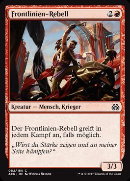 Frontlinien-Rebell