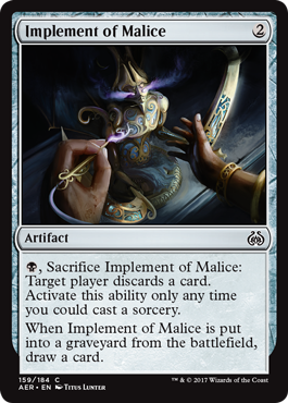Implement of Malice
