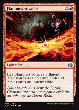 Flammes voraces