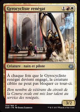 Gyrocycliste renégat
