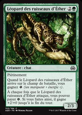 Léopard des ruisseaux d'Éther