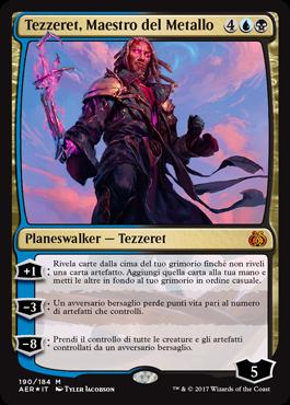 Tezzeret, Maestro del Metallo