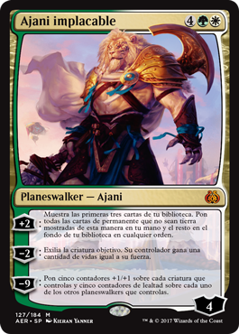 Ajani implacable