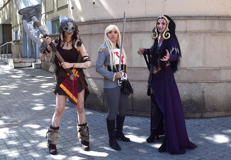 Magic the gathering cosplay