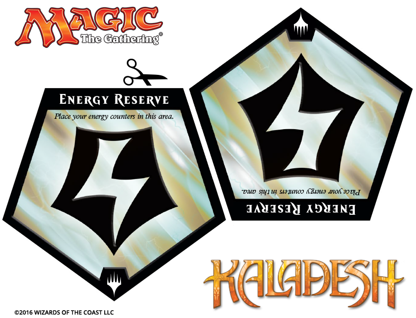 how to use energy in magic cards