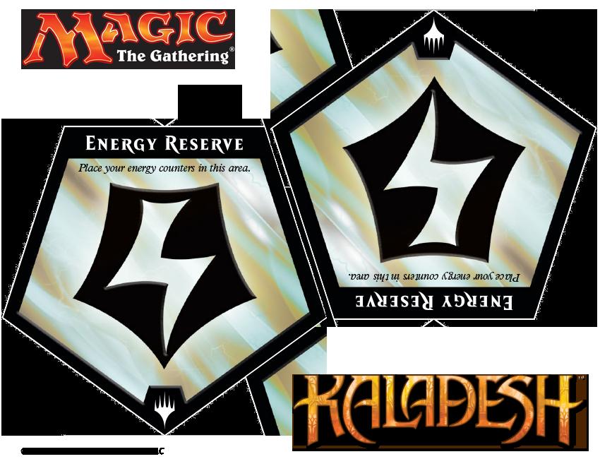 graphic regarding Mtg Tokens Printable called Electricity Counter Token MAGIC: THE Collecting