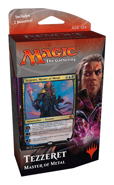Aether Revolt Packaging, Promos, and Planeswalker Decks ... Planeswalker Aether Revolt