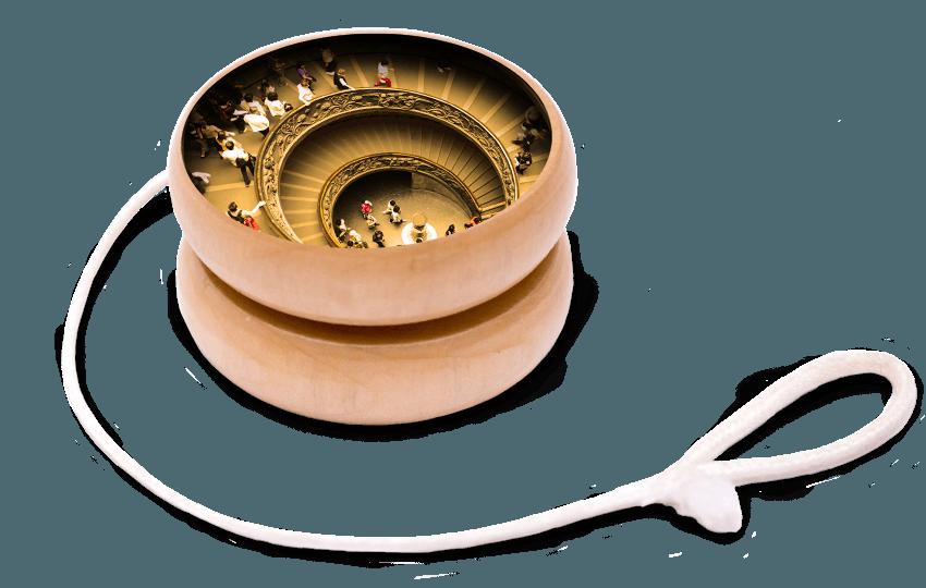 Escher's yo-yo