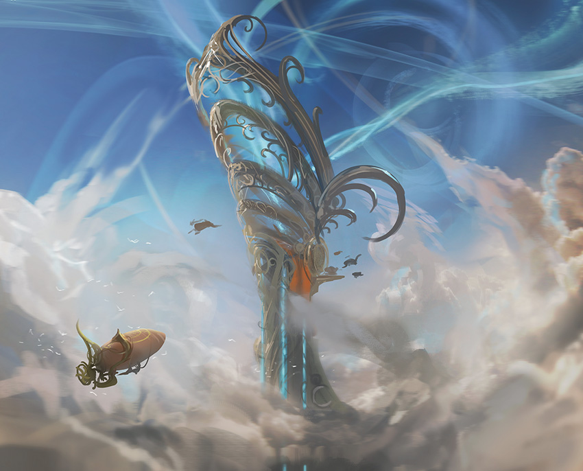 Concept art of aether