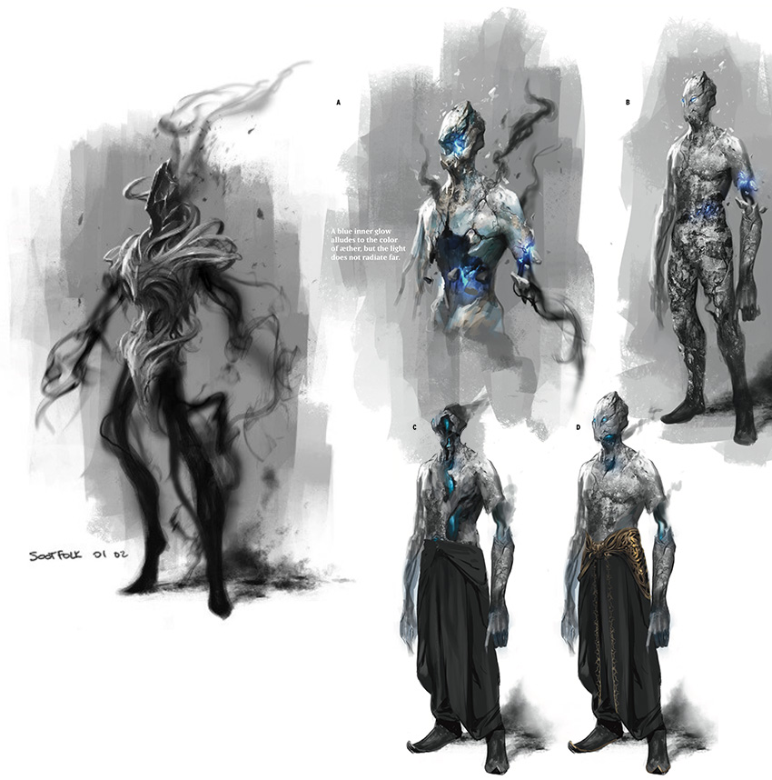 Aetherborn concept art