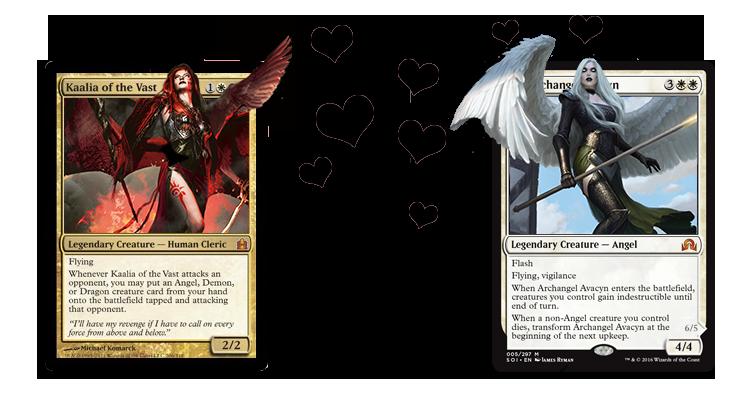 commander angel deck