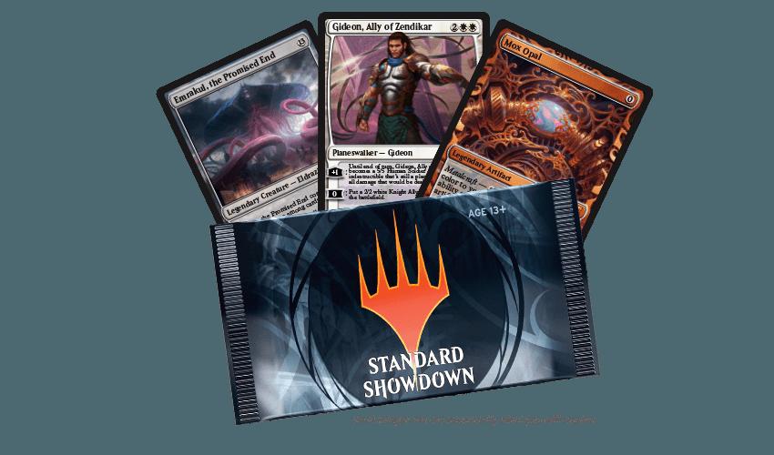 announcing standard showdown magic the gathering