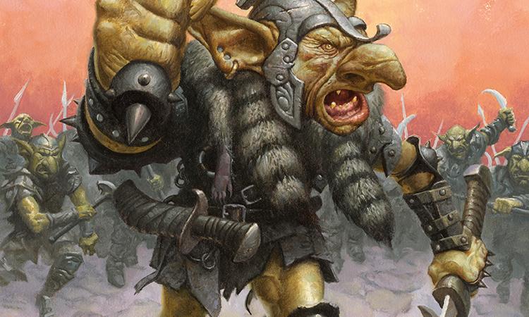 Goblin Warchief Promo