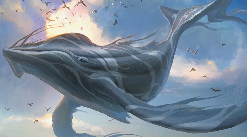 Long-Finned Skywhale
