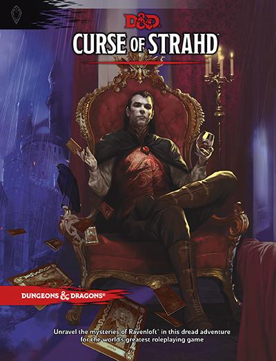 Äventyret Curse of Stradh till Dungeons & Dragons (5th edition)