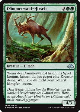 Dämmerwald-Hirsch
