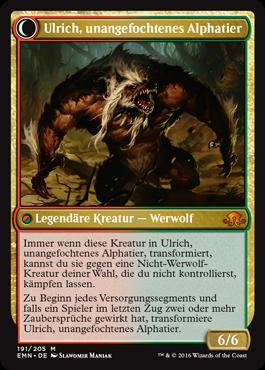 Ulrich, unangefochtenes Alphatier