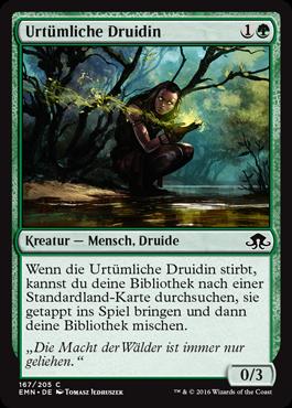 Urtümliche Druidin
