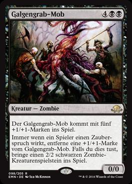 Galgengrab-Mob