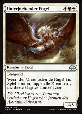 Unterjochender Engel
