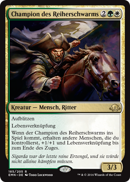 Champion des Reiherschwarms